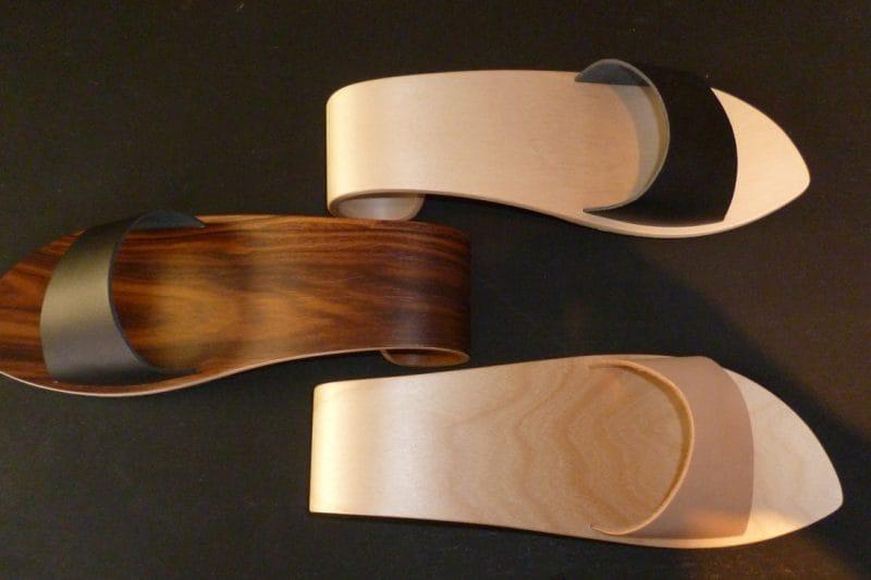 Pantoletten Wave Silta, Design für den Fuß