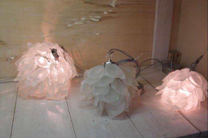 Eiskristalleuchte
