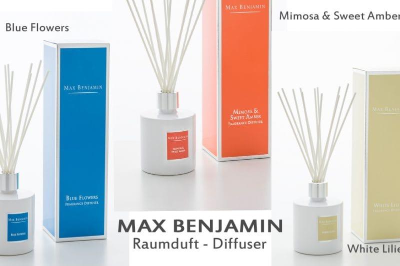 Raumduft Diffuser von Max Benjamin