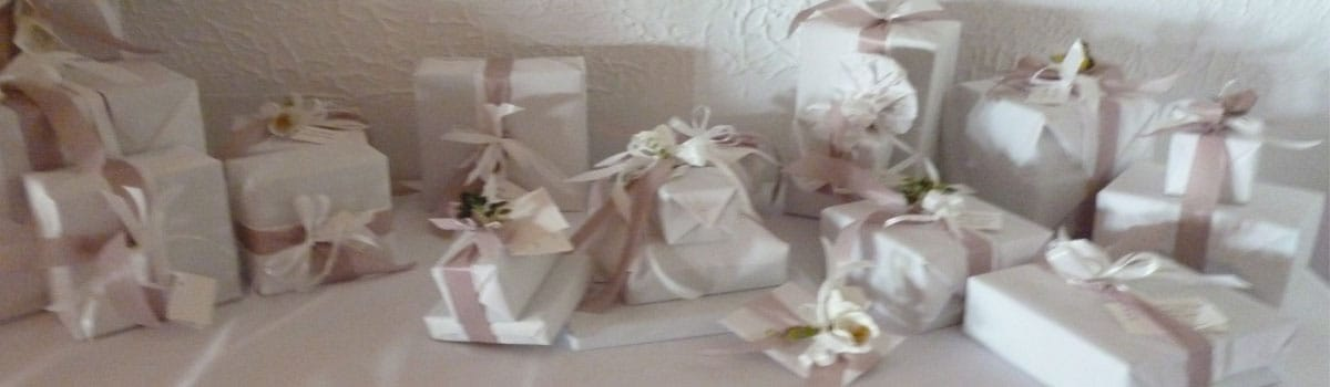 Schöne Geschenke verpackt