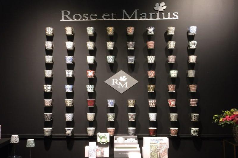 Duft und Kerze Rose et Marius
