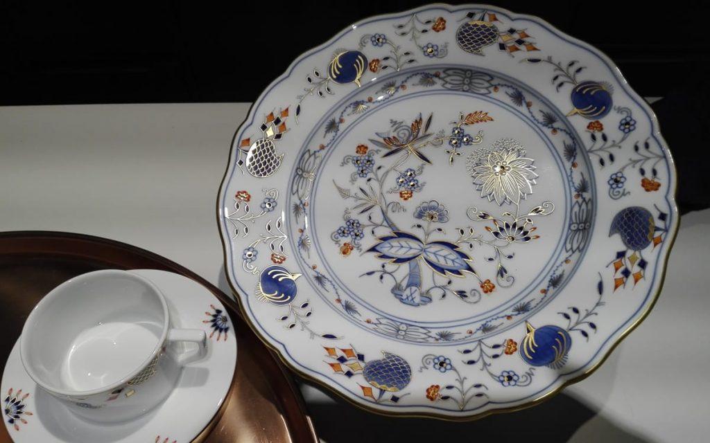 Dekor Noble Blue aus der Manufaktur Meissen