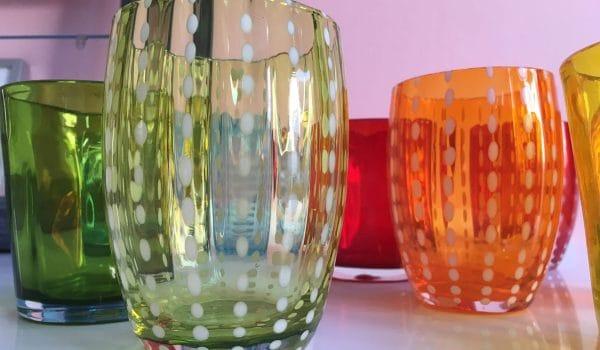 Zafferano – Venezianische Gläser – so farbenfroh und stylisch