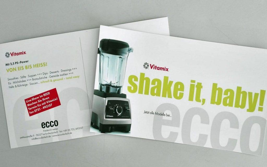 Vitamix Vorführung im ecco