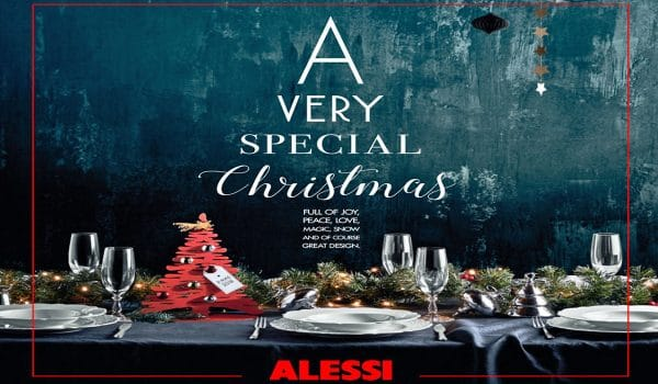 Weihnachtsüberraschung von Alessi