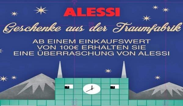 Alessi Geschenke aus der Traumfabrik