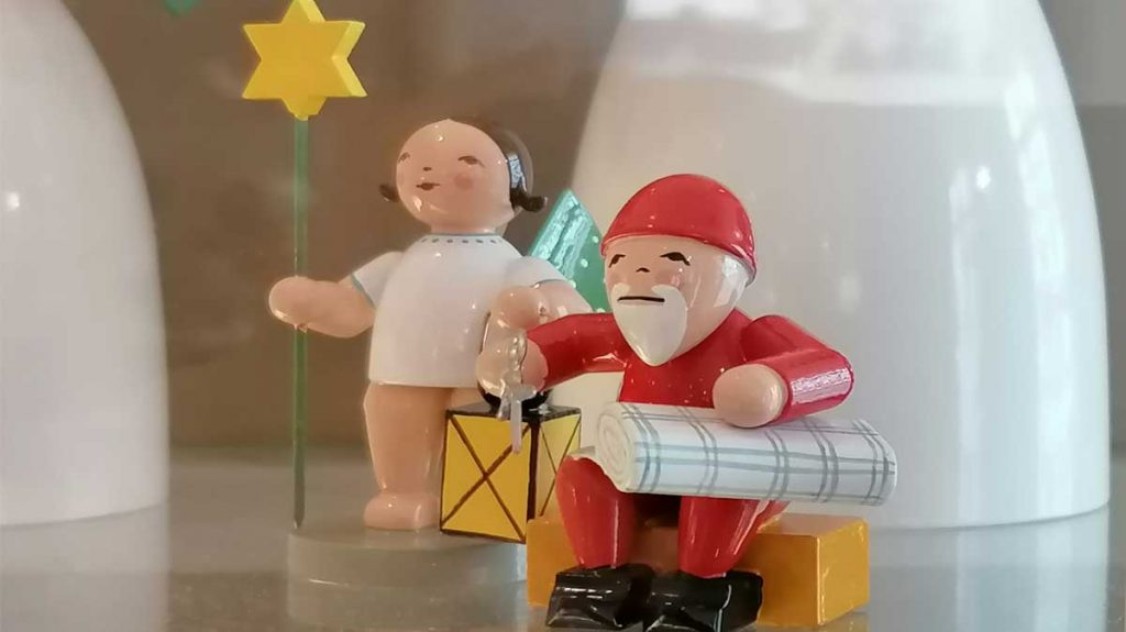 Wendt & Kühn Weihnachtsmann und Elfpunkteengel