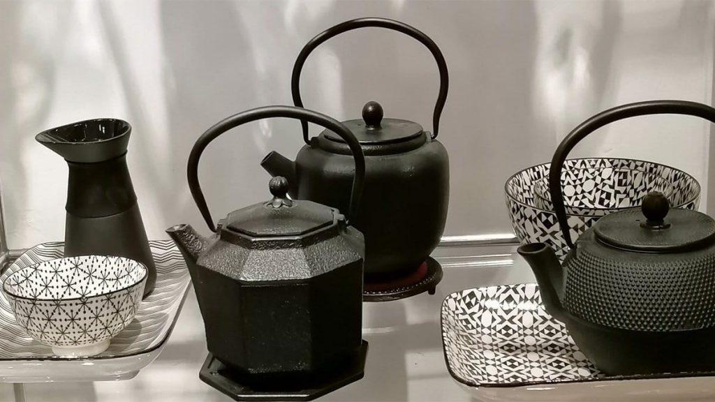 Teekannen Gusseisen