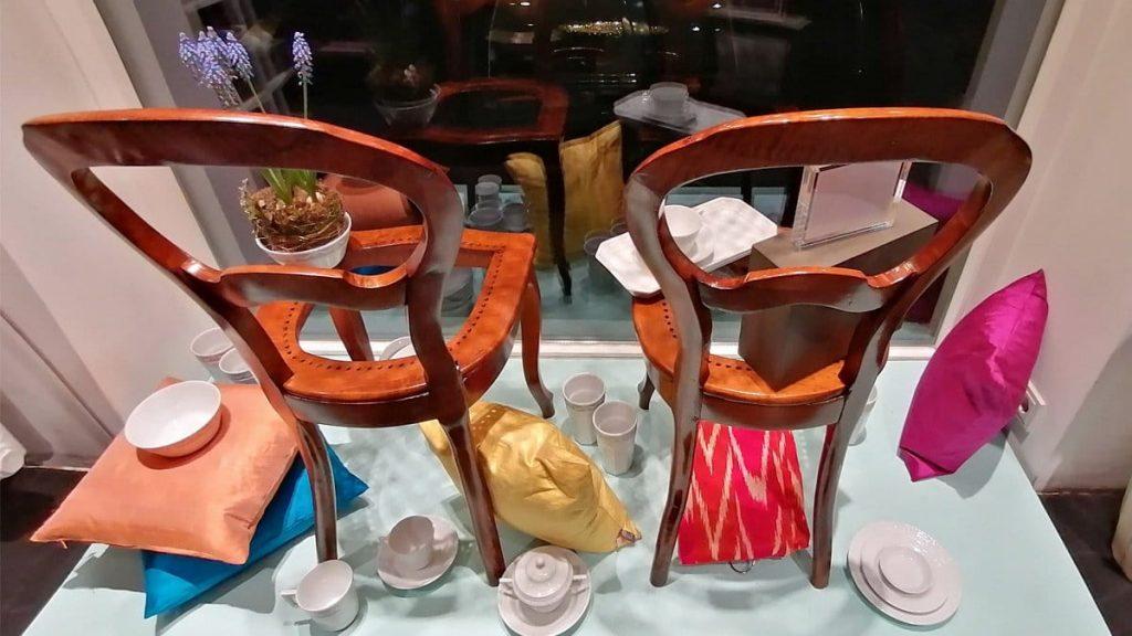 ecco-Atelier Stühle aufbereiten
