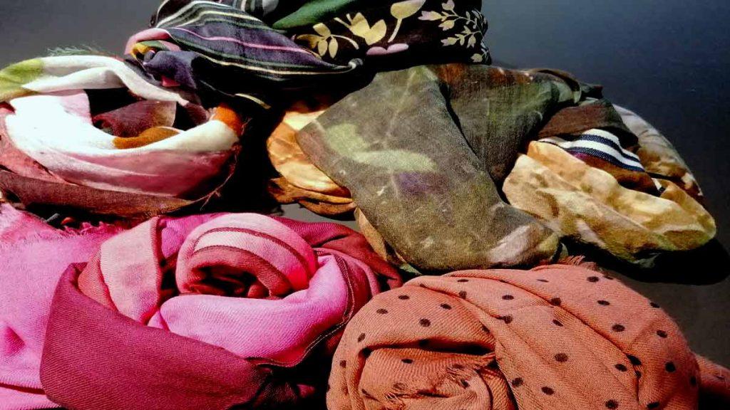 Auswahl an Schals von Beck Söndergaard