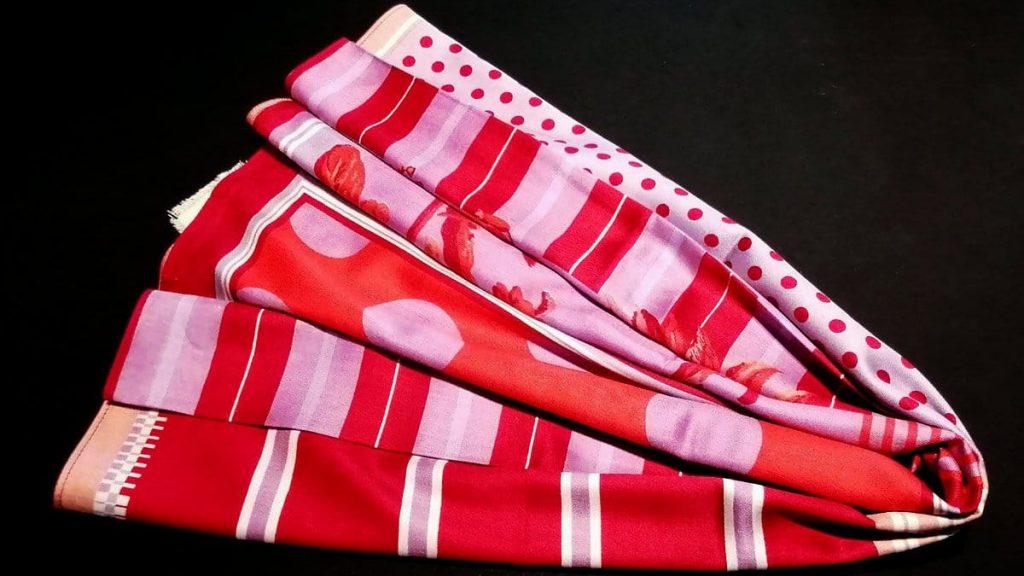 Tuch Seide und Modal